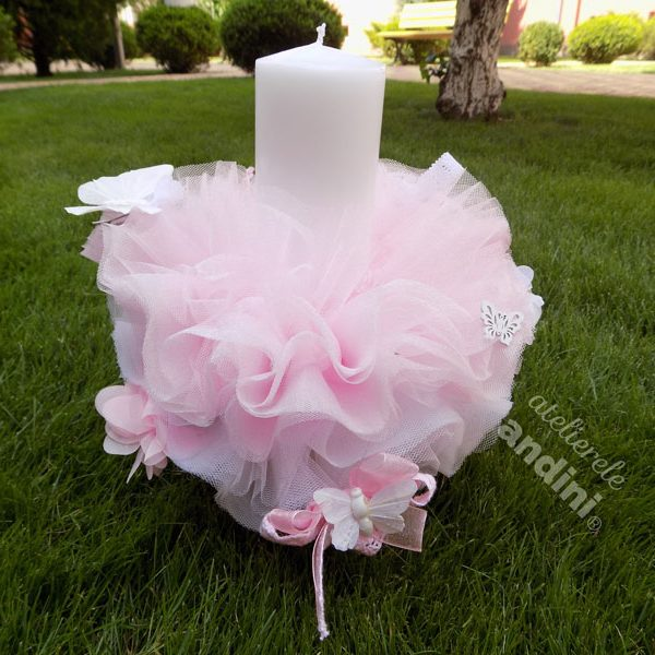Lumânare Botez Pink Dream