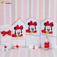 Trusou Botez Baby Minnie Mouse Red