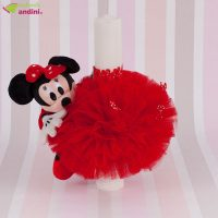 Lumânare Botez Little Minnie Mouse