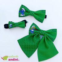 Papion Botez Green Smurf