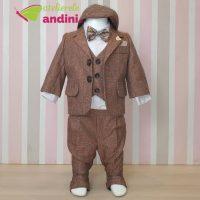 Costumaș Botez Brown Style - 6 piese